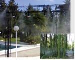 МИКРО НАПОЯВАНЕ И ЕФЕКТИ чрез мъглуване в градини, паркове и др.