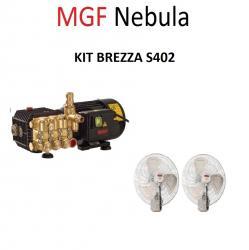 MGF Nebula комплект вентилатори с водна мъгла BREZZA 400
